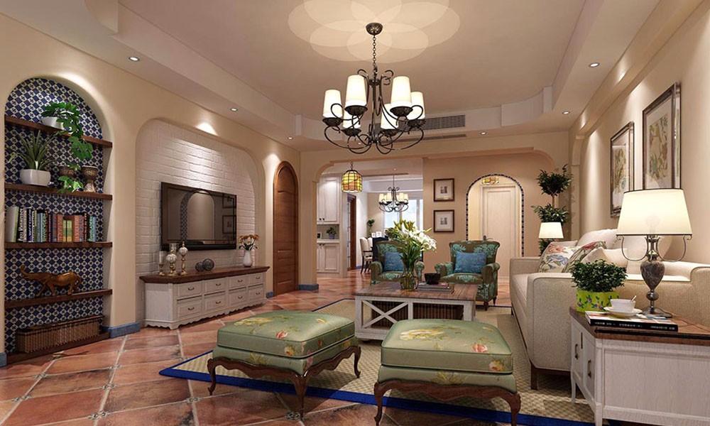 3室2卫2厅200平米美式风格