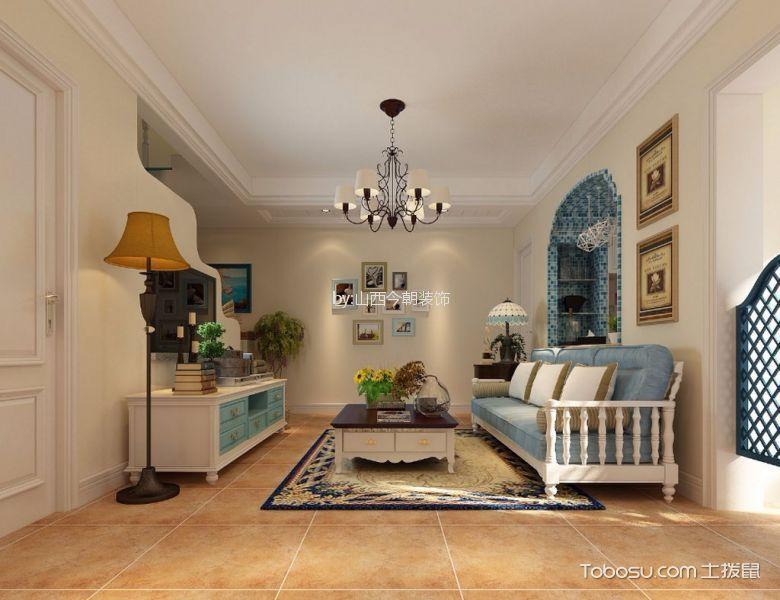 150平米三室两厅美式装修效果图