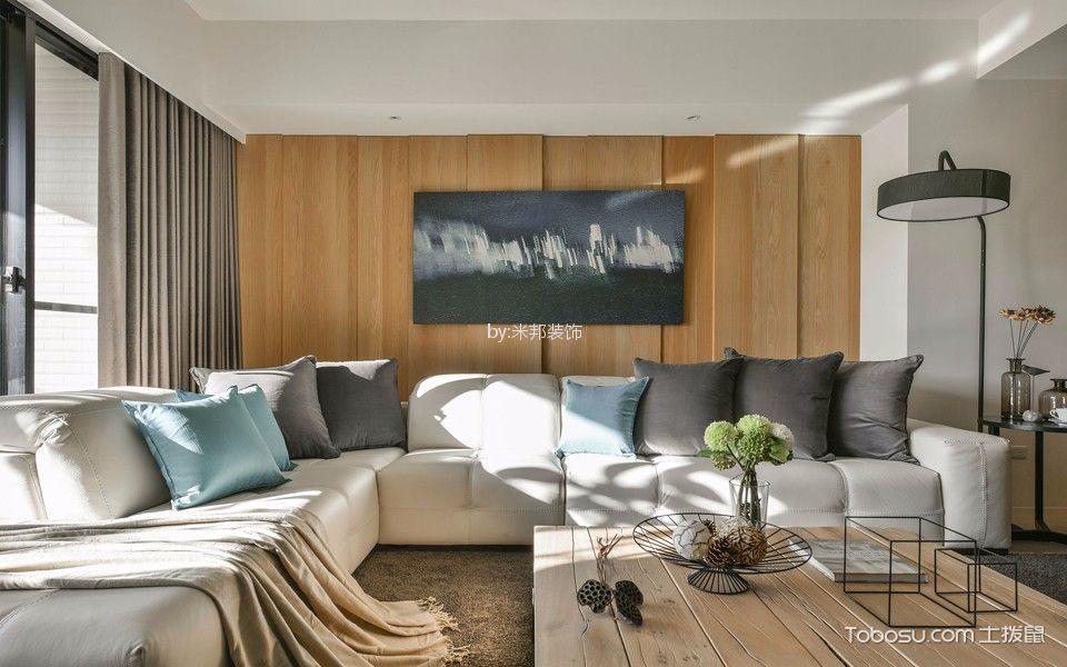 凯尔锋度130平现代风格三居室装修效果图
