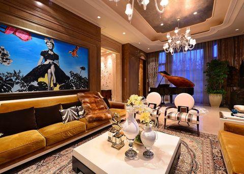 86平古典风三居室装修效果图