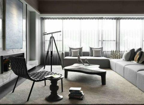 【众意装饰】曲江诸子阶149平后现代三室装修效果图