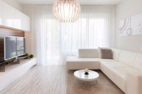 园中新苑两室一厅75平米现代简约风格装修效果图
