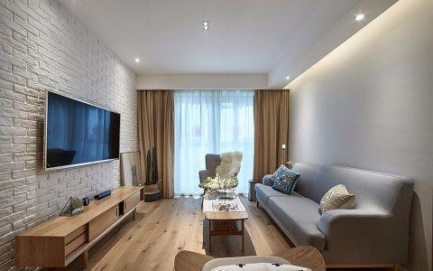 2019北欧90平米效果图 2019北欧二居室装修设计