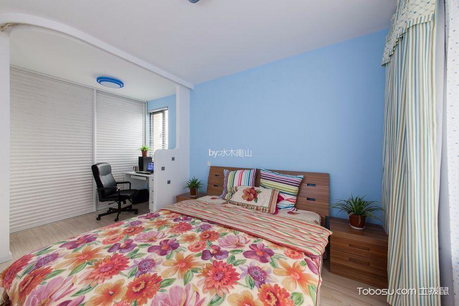 地中海风格110平米三居室装修效果图