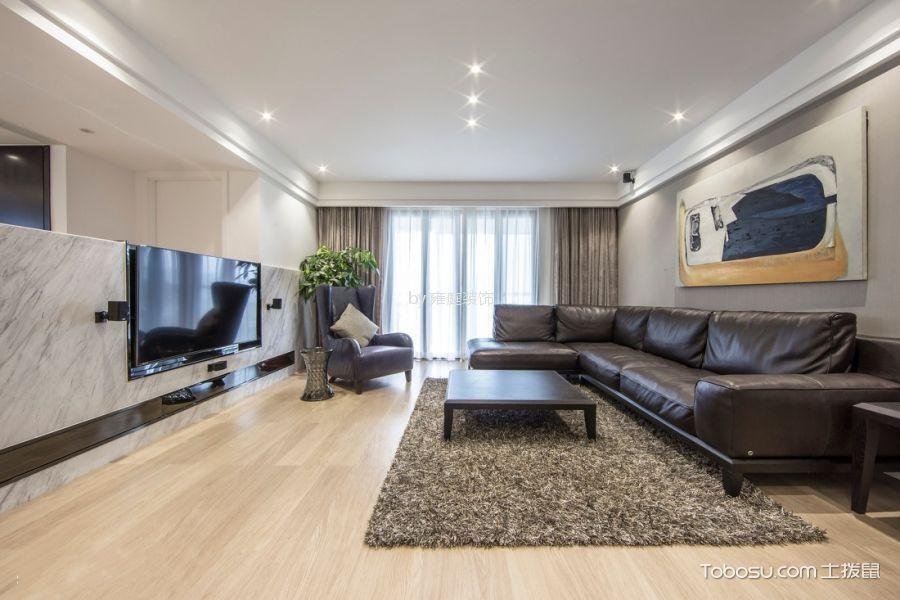 山语华庭159平米简约风格三居室装修效果图