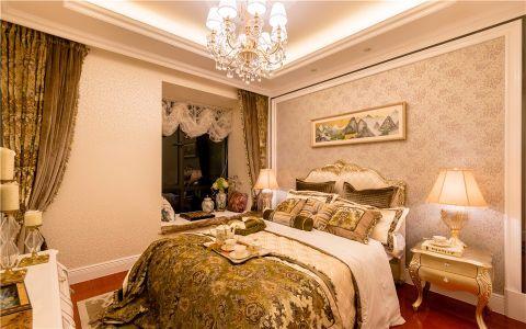 建发善水湾119平欧式三室一厅一卫装修效果图