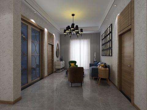 获嘉自建房现代简约复式楼装修效果图