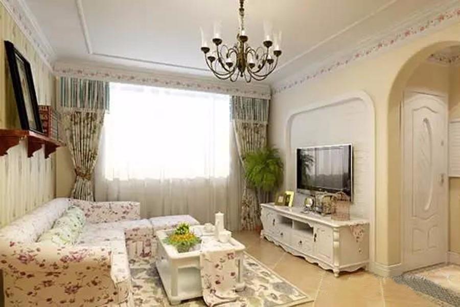2室1卫2厅87平米田园风格