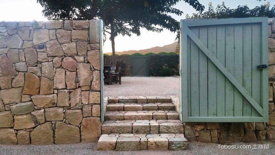 花园黄色走廊地中海风格装修效果图