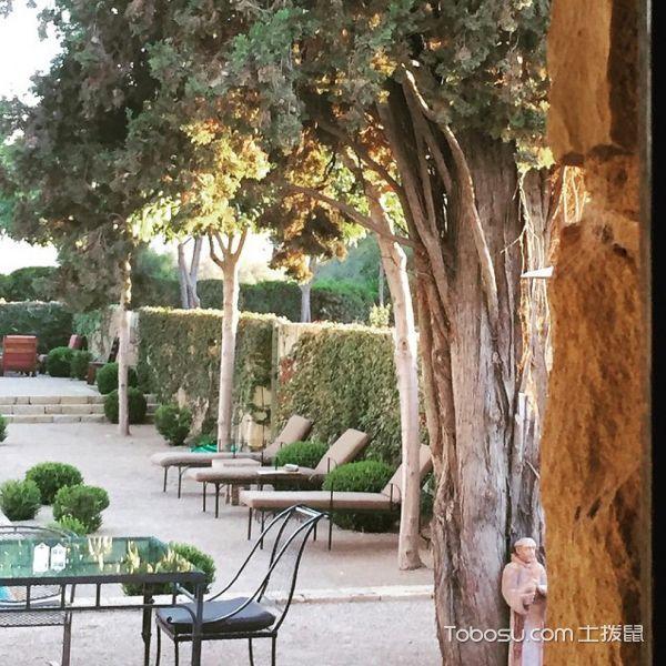 花园彩色细节地中海风格装修图片