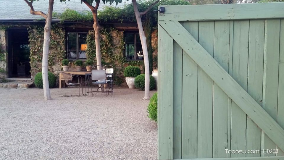 花园绿色细节地中海风格装饰图片