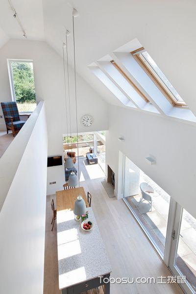 100~120m²/北欧/错层装修设计