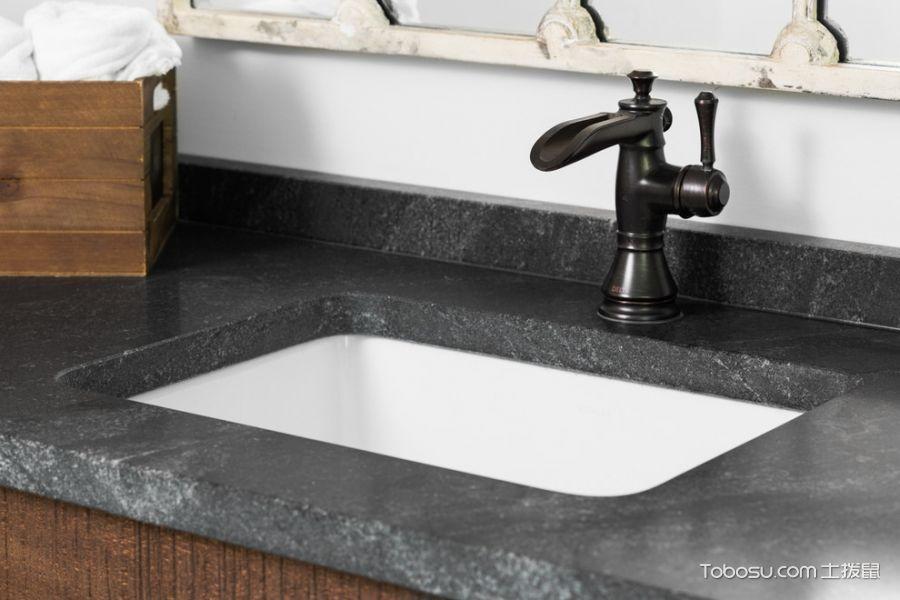浴室灰色细节混搭风格装饰设计图片