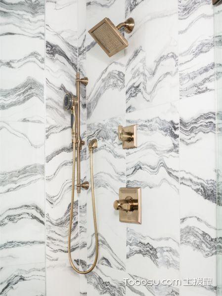 浴室黄色细节混搭风格装潢设计图片