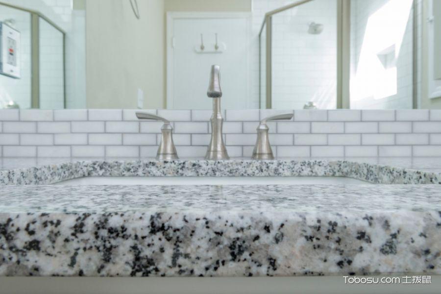 浴室白色细节混搭风格装修设计图片