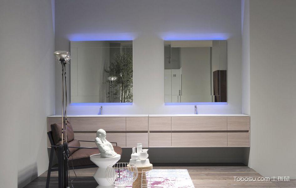 浴室彩色细节现代风格装饰效果图