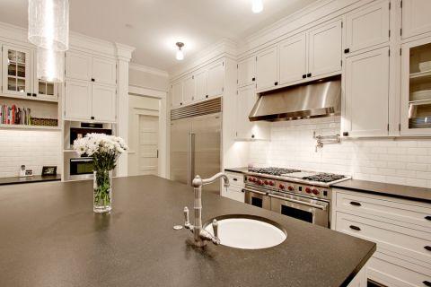 厨房美式风格效果图大全2017图片_土拨鼠豪华自然厨房美式风格装修设计效果图欣赏