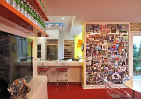 厨房现代风格效果图大全2017图片_土拨鼠极致淡雅厨房现代风格装修设计效果图欣赏