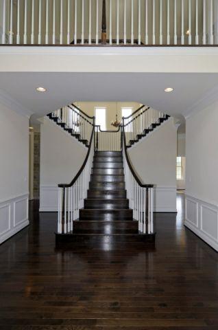 楼梯美式风格效果图大全2017图片_土拨鼠极致舒适楼梯美式风格装修设计效果图欣赏