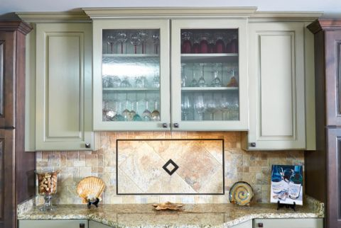 厨房混搭风格效果图大全2017图片_土拨鼠潮流质朴厨房混搭风格装修设计效果图欣赏