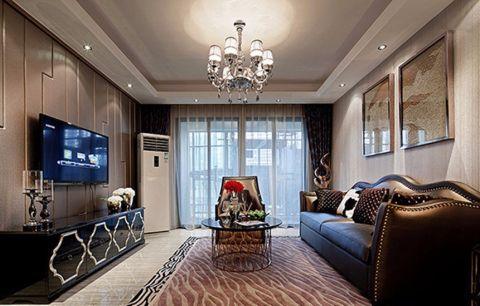 客厅电视柜现代简约风格装饰效果图