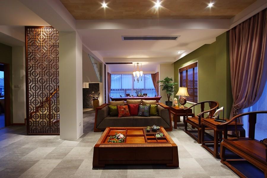 4室3卫2厅300平米中式风格