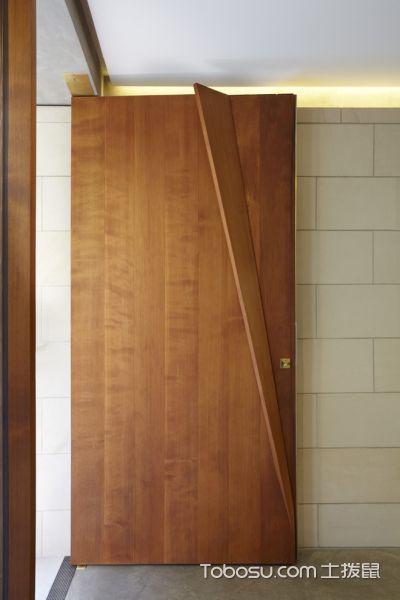 玄关咖啡色门厅现代风格装饰效果图