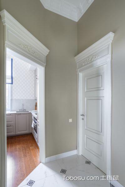 厨房黄色美式风格装饰设计图片