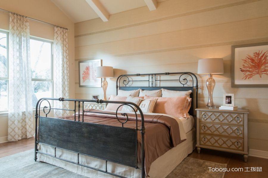 卧室白色混搭风格装修效果图