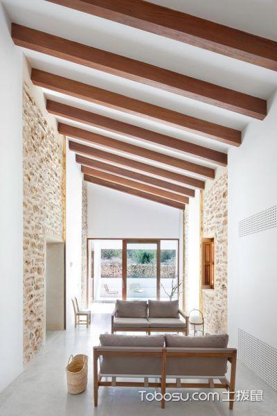 100~120m²/北欧/庭院装修设计