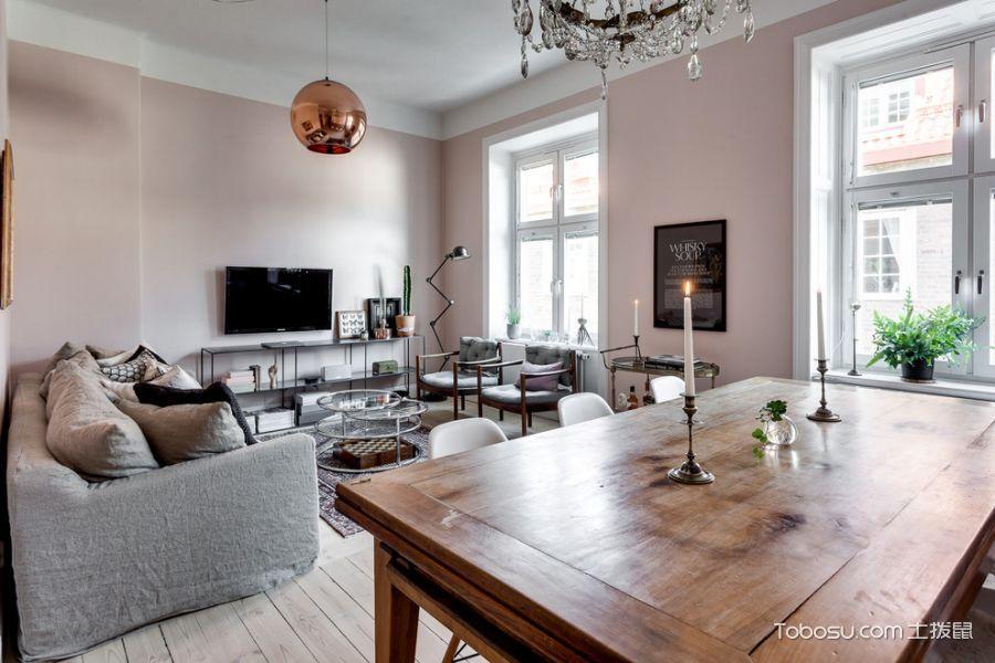 120~180㎡/北欧/三居室装修设计