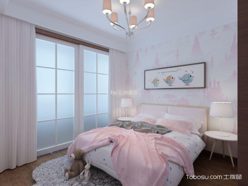 儿童房彩色床新中式风格装修设计图片