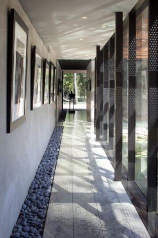 走廊现代风格效果图大全2017图片