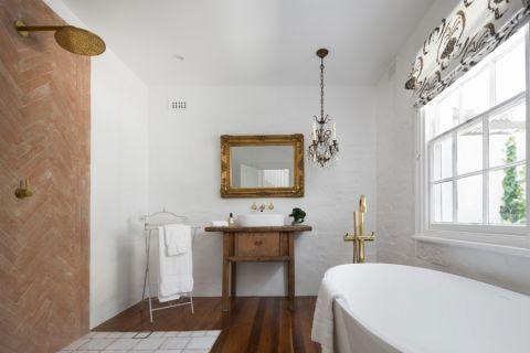 浴室现代风格效果图大全2017图片_土拨鼠优雅时尚浴室现代风格装修设计效果图欣赏