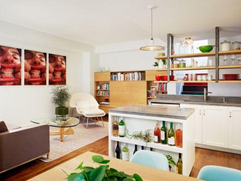 厨房现代风格效果图大全2017图片_土拨鼠温暖时尚厨房现代风格装修设计效果图欣赏