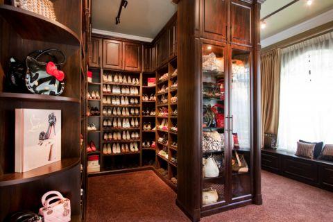 衣帽间衣柜美式风格装饰设计图片图片