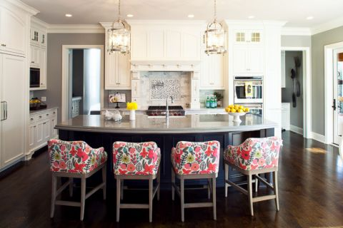 厨房美式风格效果图大全2017图片_土拨鼠完美沉稳厨房美式风格装修设计效果图欣赏