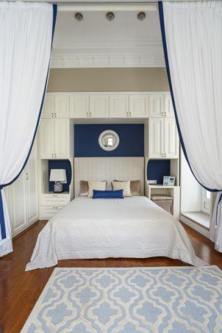 卧室白色美式风格效果图