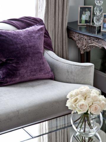 客厅白色美式风格装潢效果图