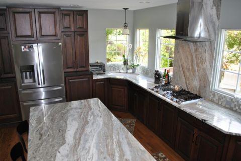 厨房现代风格效果图大全2017图片_土拨鼠完美奢华厨房现代风格装修设计效果图欣赏