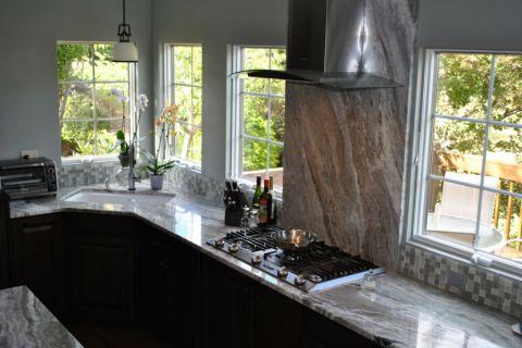 厨房窗台现代风格装饰设计图片