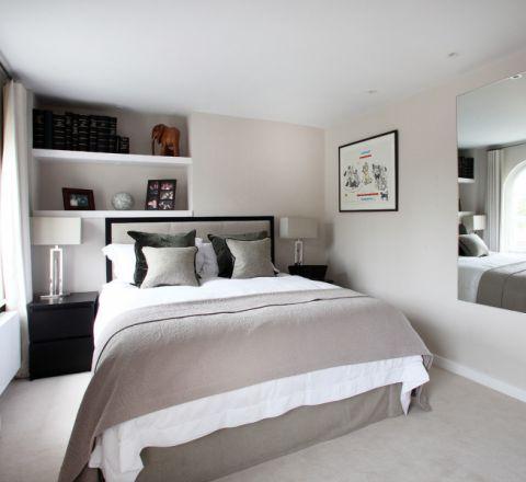 卧室现代风格效果图大全2017图片_土拨鼠完美自然卧室现代风格装修设计效果图欣赏