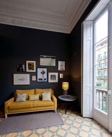 客厅沙发混搭风格装潢效果图