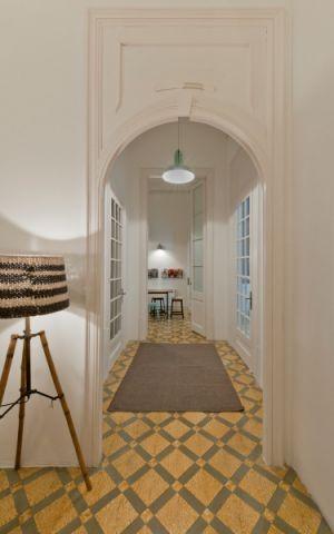 玄关走廊混搭风格装潢图片