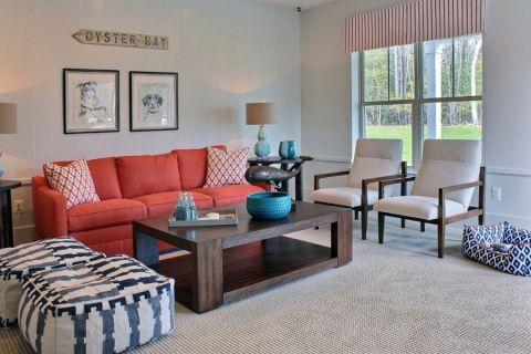 客厅茶几现代风格装饰效果图