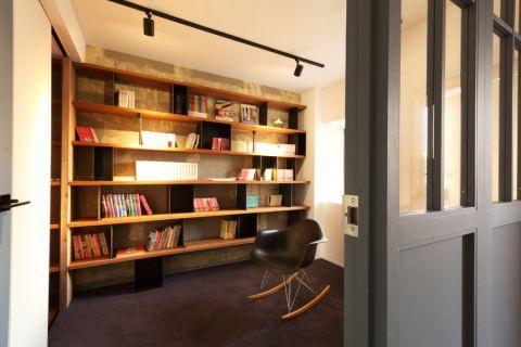 书房现代风格装饰效果图