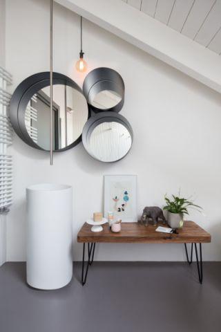 浴室背景墙北欧风格装潢设计图片