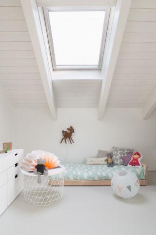 儿童房吊顶北欧风格装修图片