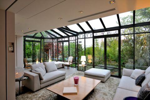阳光房沙发现代风格装潢设计图片
