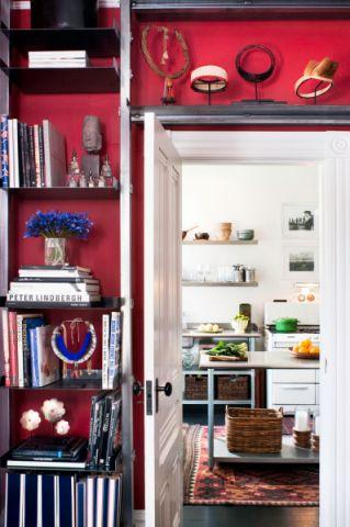 书房走廊混搭风格装修图片